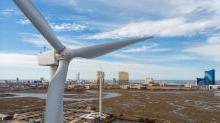 新泽西州的风力涡轮机